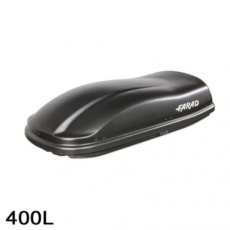 Coffre de toit Marlin 400 Litres noir