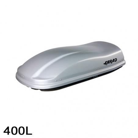 Coffre de toit Marlin 400 Litres gris