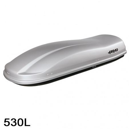Coffre de toit Marlin 530 Litres Gris