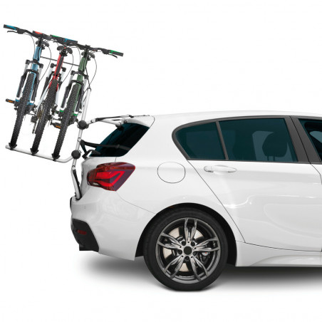 Porte vélos Pyro 3 pour Peugeot Partner Tepee - 2008 à 2012  5 portes