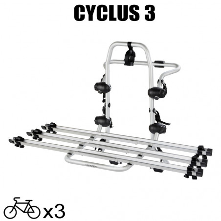 Porte vélos Pyro 3 pour Volkswagen Touran - A partir de 2015