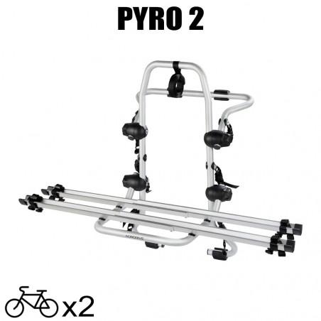 Porte vélos Pyro 2 pour Jeep Patriot - 2007 à 2012