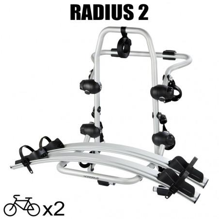 Porte vélos Radius 2 pour Peugeot Partner Tepee - 2015 à 2018  5 portes