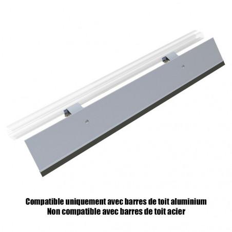 Deflecteur de toit 95cm pour barres de toit ALUMINIUM