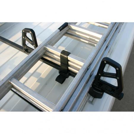 Sangles d'arrimage pour barres de toit  - Avec cliquet de sécurité. Livré à la paire